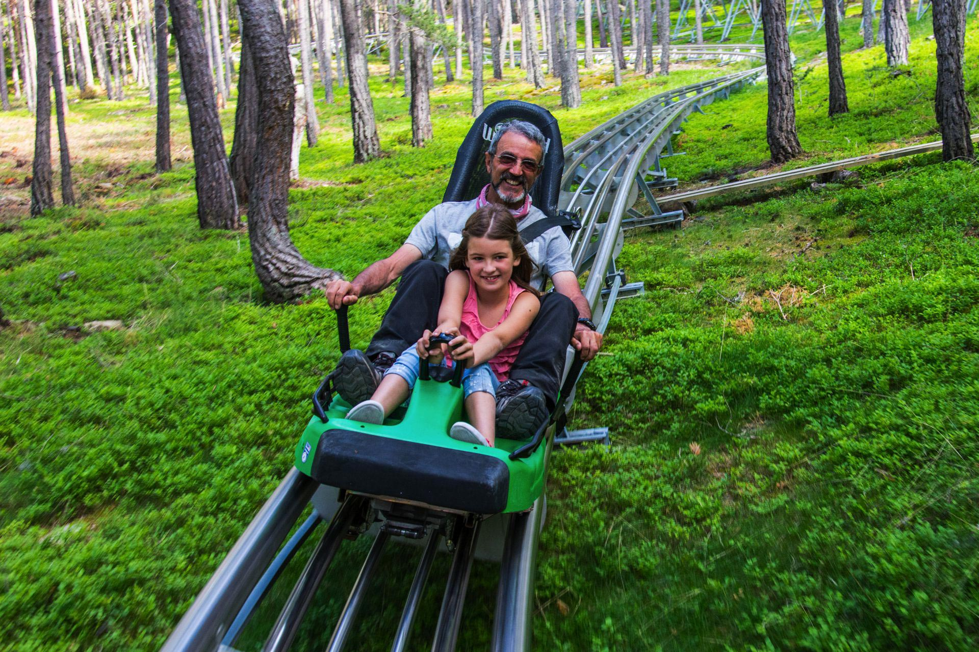 An adventure park in the Pyrenees for the whole family