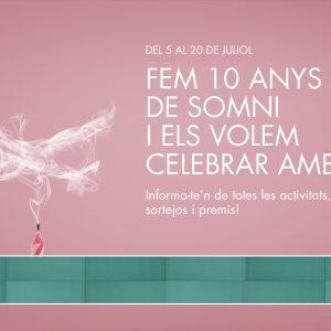 10º Aniversario Illa Carlemany