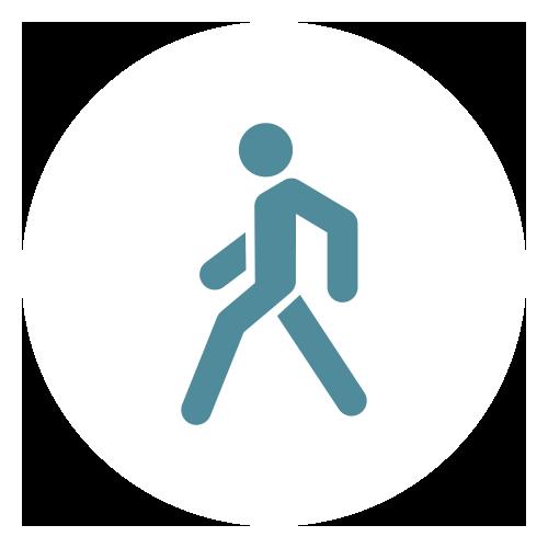 Accessos d'entrada i sortida senyalitzats