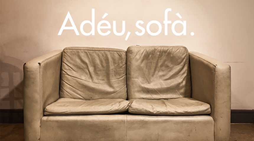 Bye-bye, sofa! As of today, Andorra's centre is back