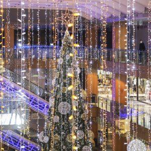 Navidad en el centro de Andorra