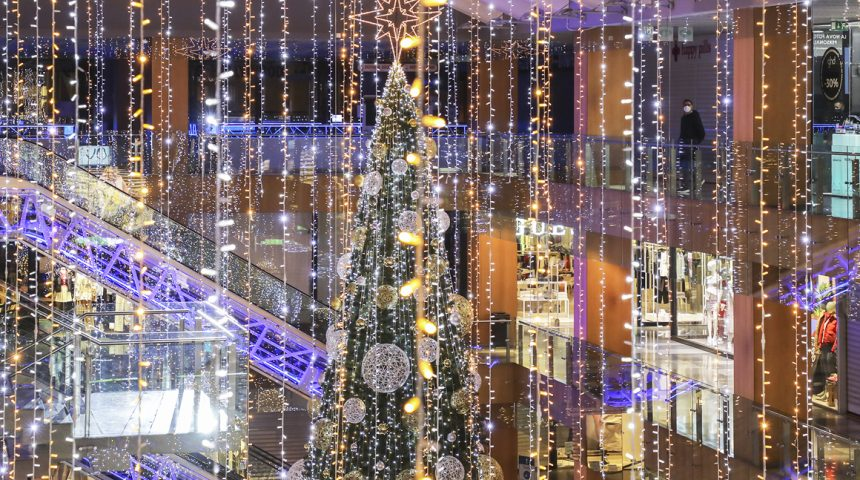 Christmas in the centre of Andorra