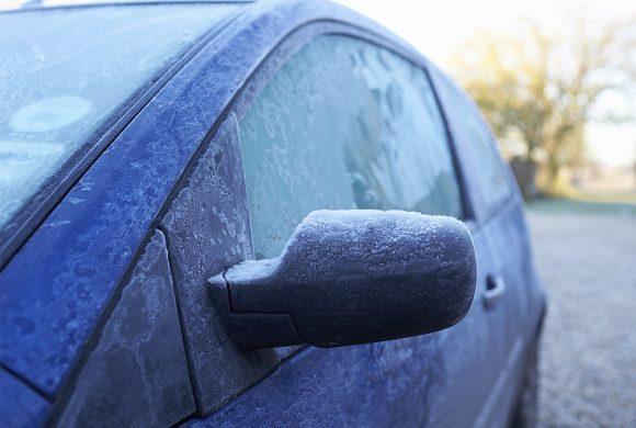 Les voitures souffrent elles aussi du froid !